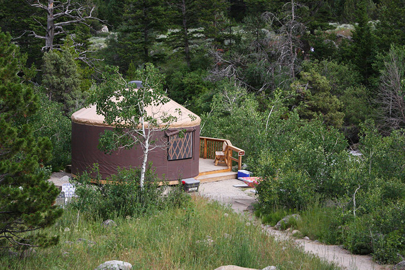 Sinks Canyon State Park Visitor Info Camping Yurts