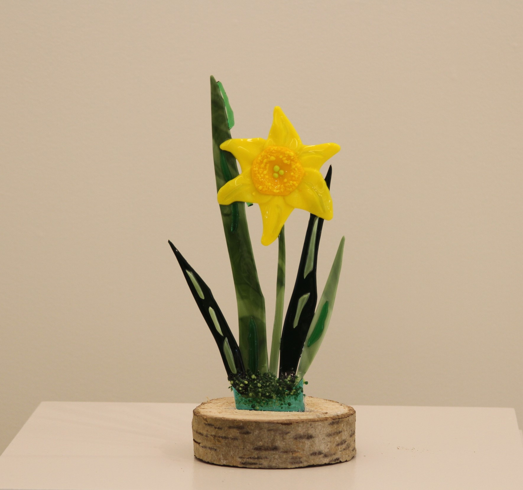 Daffodil on Stump