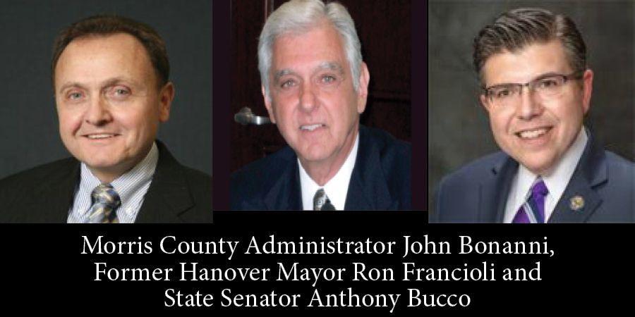 John Bonanni, Ron Francioli & Sen. Anthony Bucco