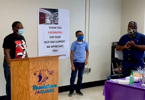 ExxonMobil Baton Rouge Connects Students to Education 2020