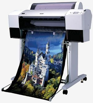 EFI Colorproof XF Proofing Solution with Epson Stylus Pro 7800 Wide Format Printer