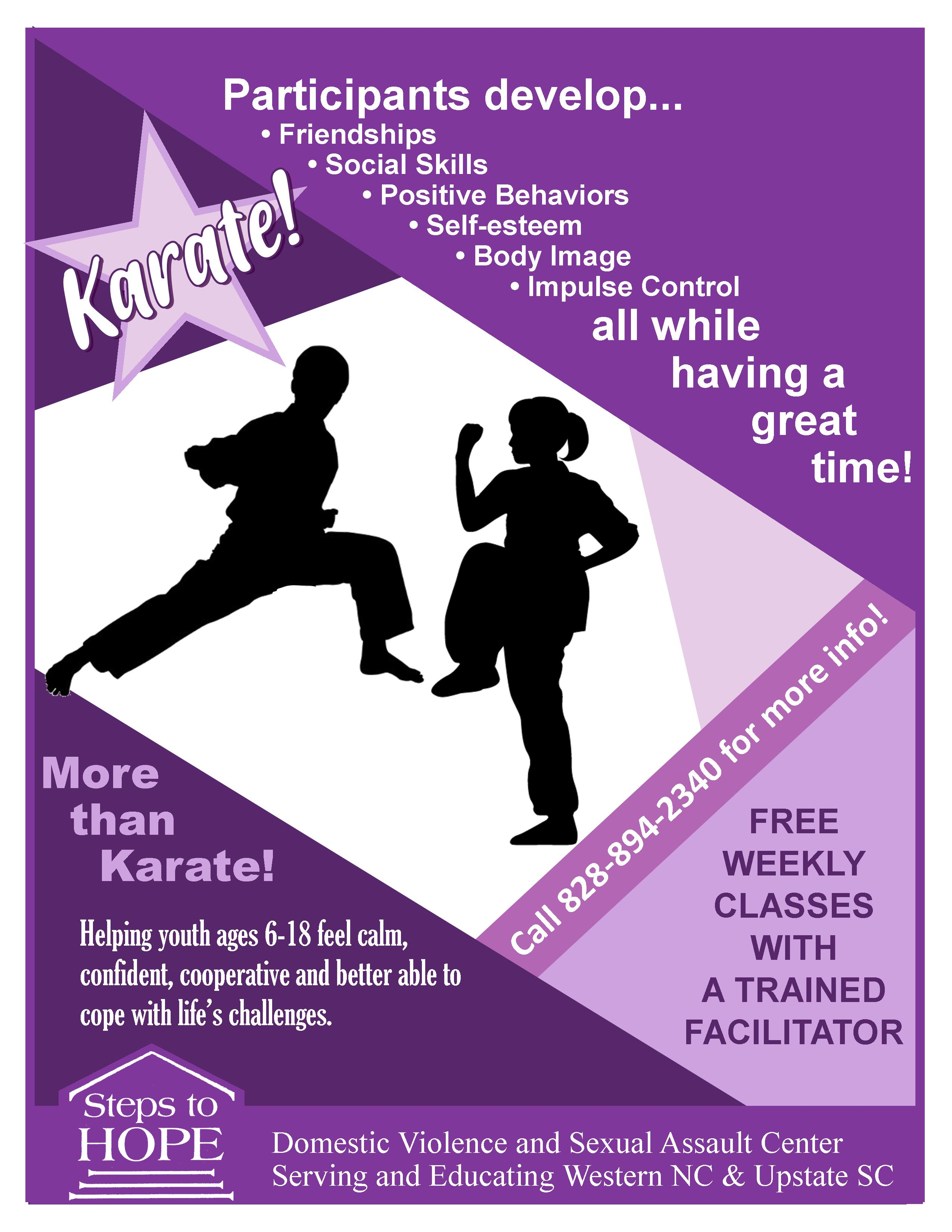 ASK - Adolescent Skill-building and Karate