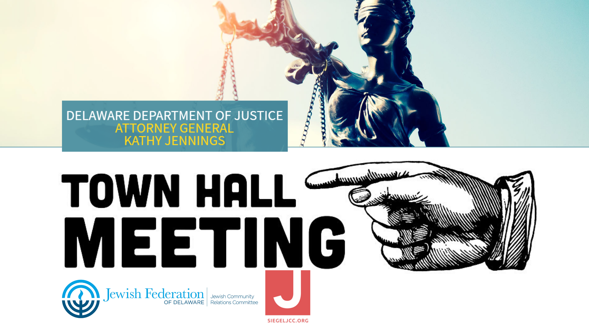 Town Hall with Delaware's Attorney General Jennings