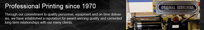 Printing Since 1970