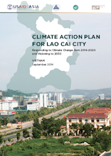 Climate action plan of Lao Cai City Responding to Climate Change from 2014–2020 and Visioning to 2030