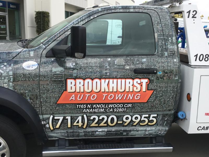 Vinyl Truck Wraps for Tow Trucks | Orange County CA