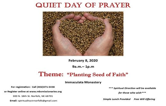 Quiet Prayer Day