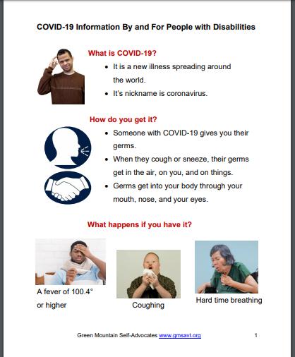 Plain Language Coronavirus Info