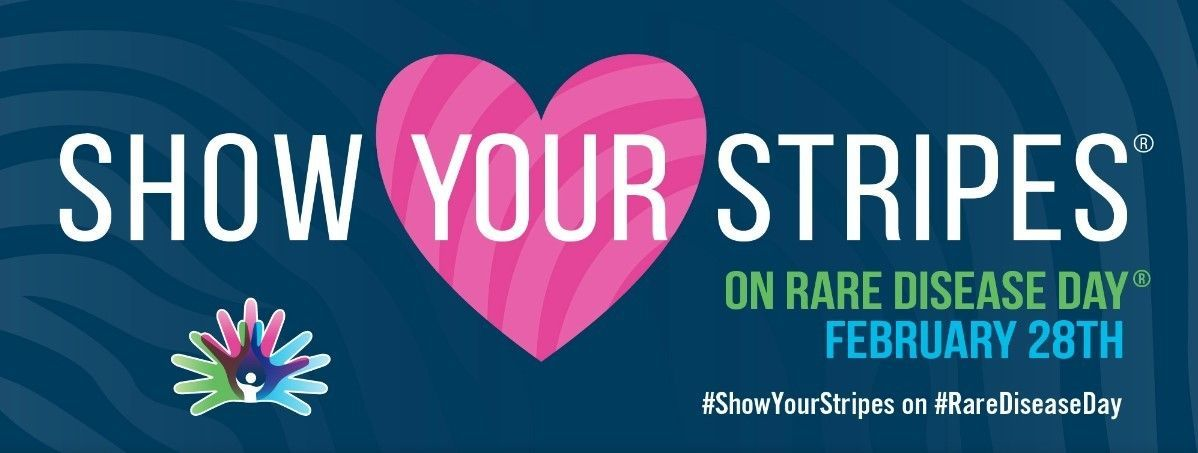 Rare Disease Day NORD - Wear Your Stripes and Post on Social Media