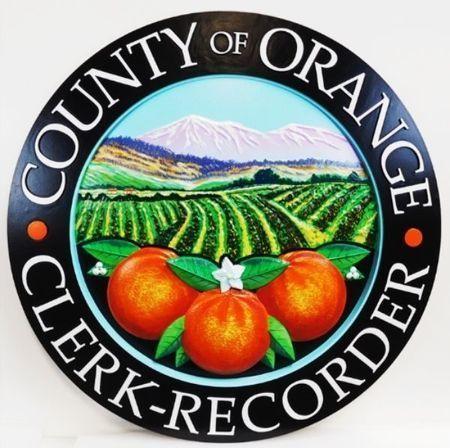 CA10097 - Seal of the County of Orange, California