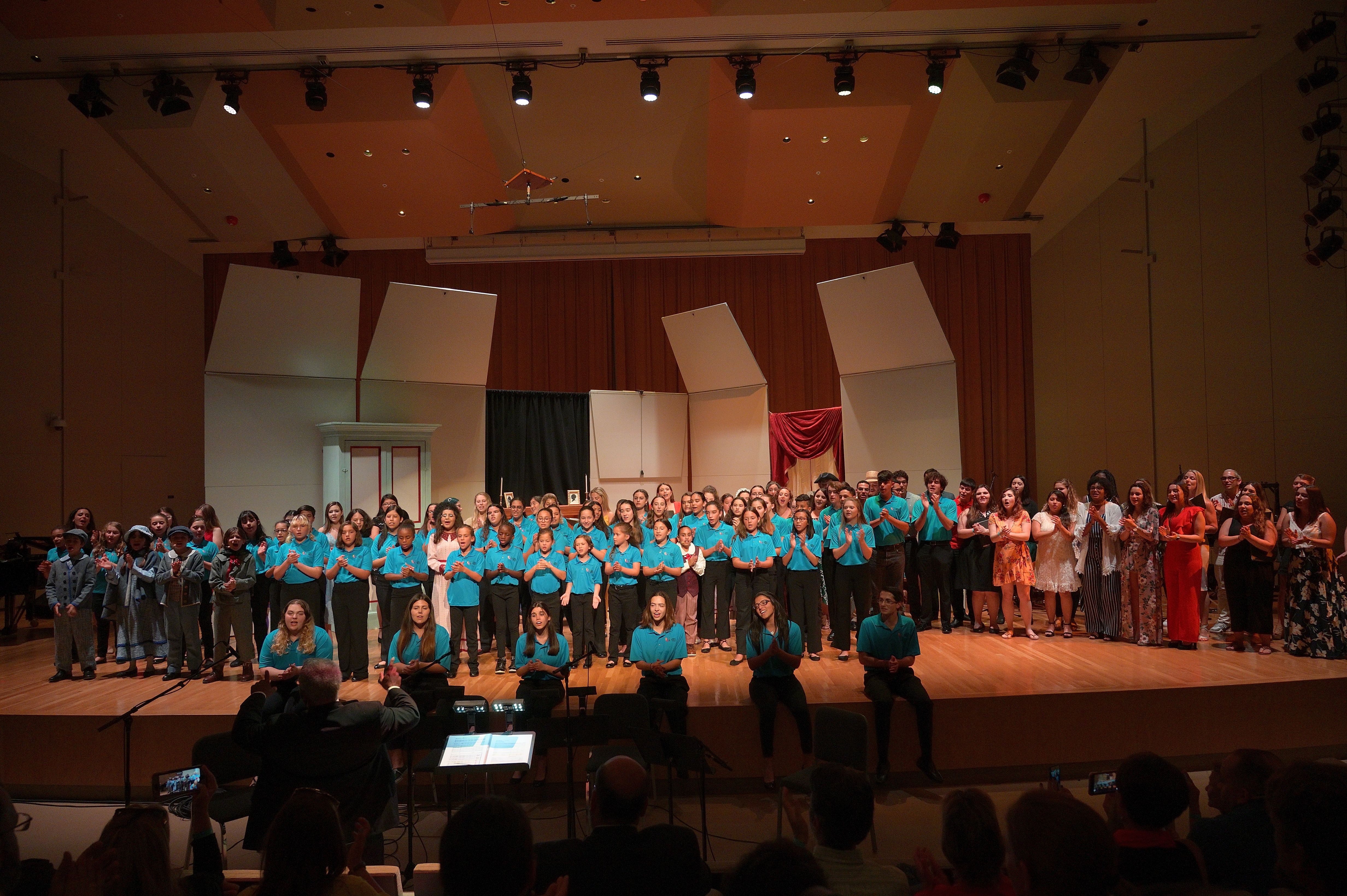 MCC Alumni + Choristers singing Give us Hope