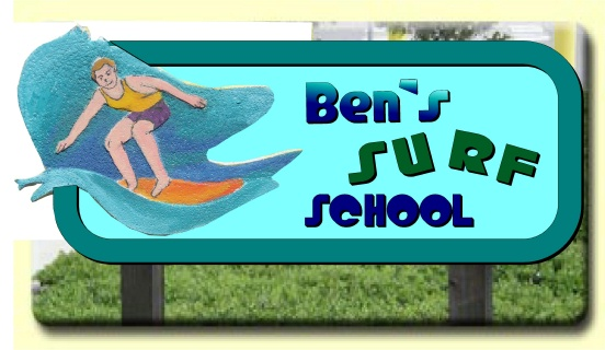 L21702 - Carved Cedar Wood Surfer Sign