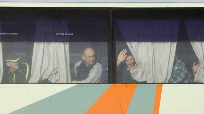 Ukraine crisis: Exchange of hundreds of prisoners takes place