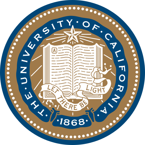 RP-1300 - Carved Wall Plaque of  the Seal of The University of California, Artist Painted
