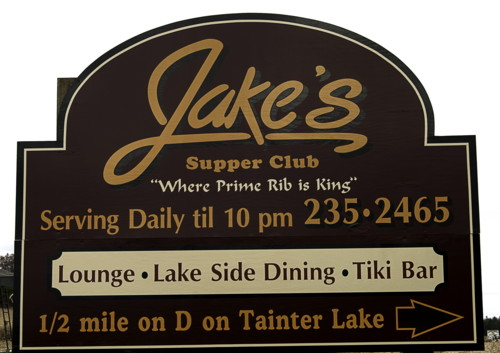 Jake's Supper Club Billboard