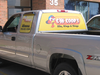 CW Coops Truck