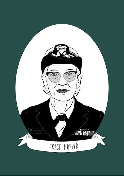 Illustrated Women In History Blog Features Grace Hopper