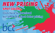 SPOT COLOR PRICING