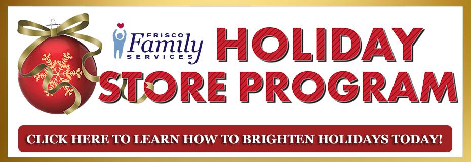 Holiday Store Program