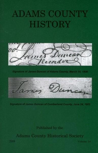 Adams County History Vol 14