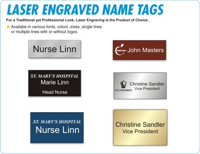 Name Tags, Name Badges, Custom Name Tags