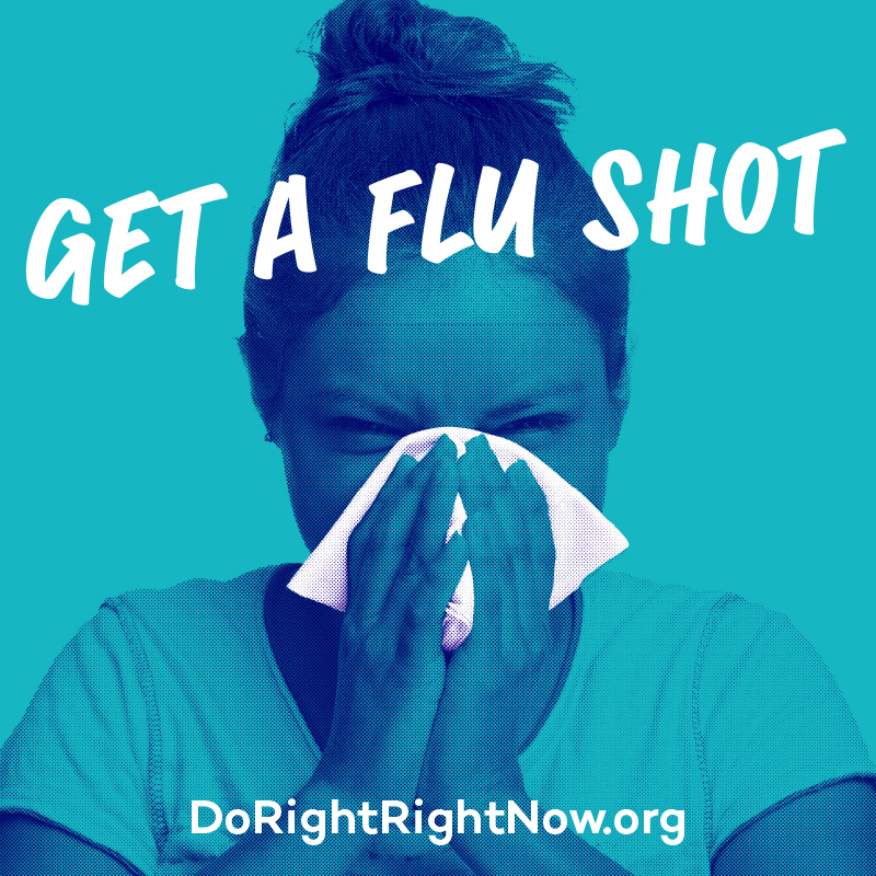 Facebook / Instagram: Get a Flu Shot