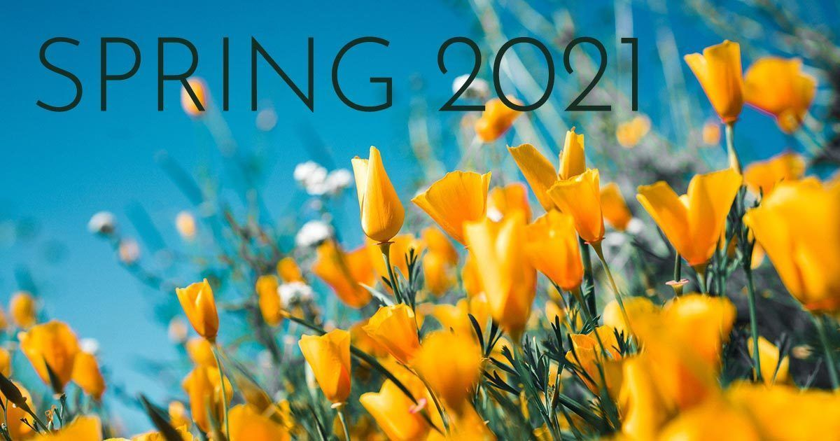 Spring 2021 Event and Program Details