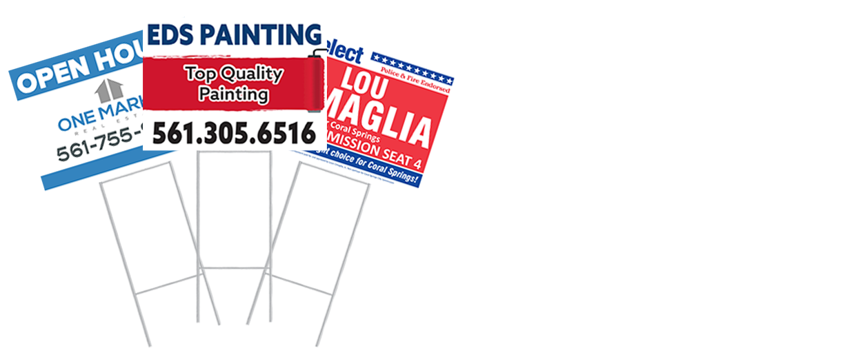 Signs - Yard Sign SALE!