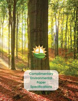 Environmental Paper Specifications Chart