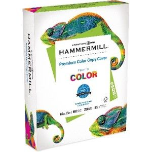 Hammermill Premium Color Copy Cover Specification Sheet