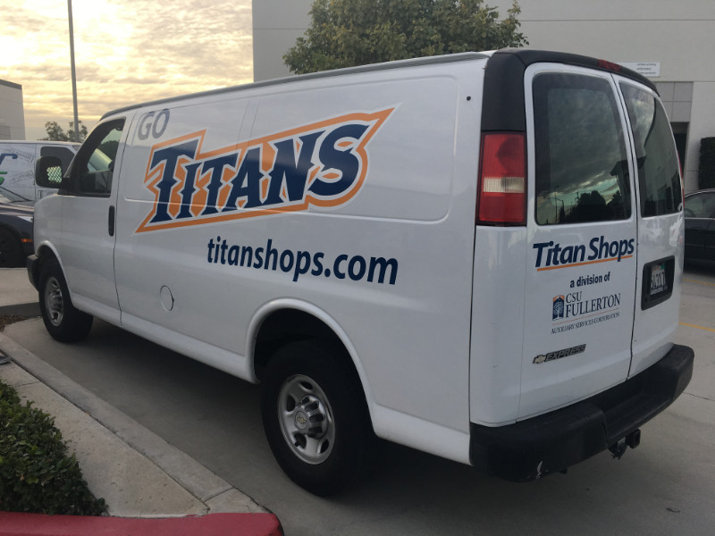 Van Decals and Lettering