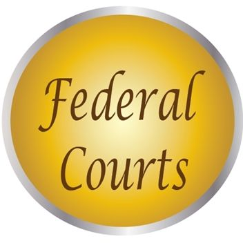 AP-2160 - Carved Plaques of the Seals of the US Federal Courts