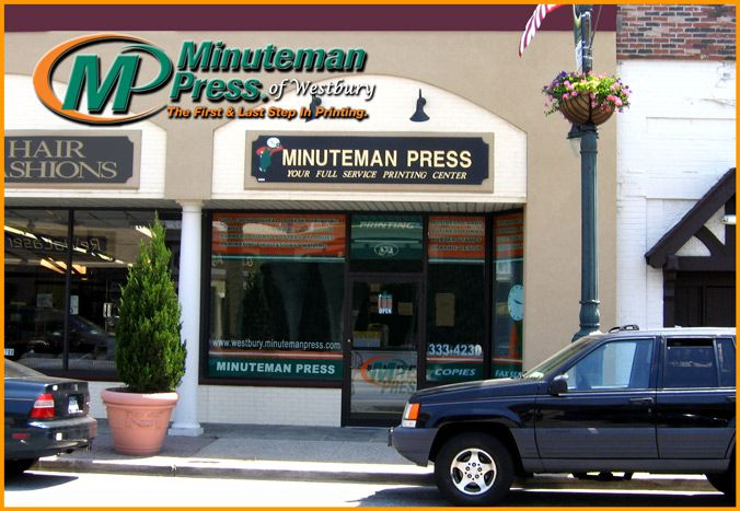 Please click here for directions to our print shop....