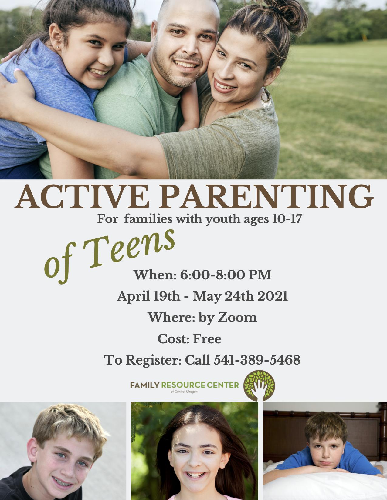 Active Parenting of Teens