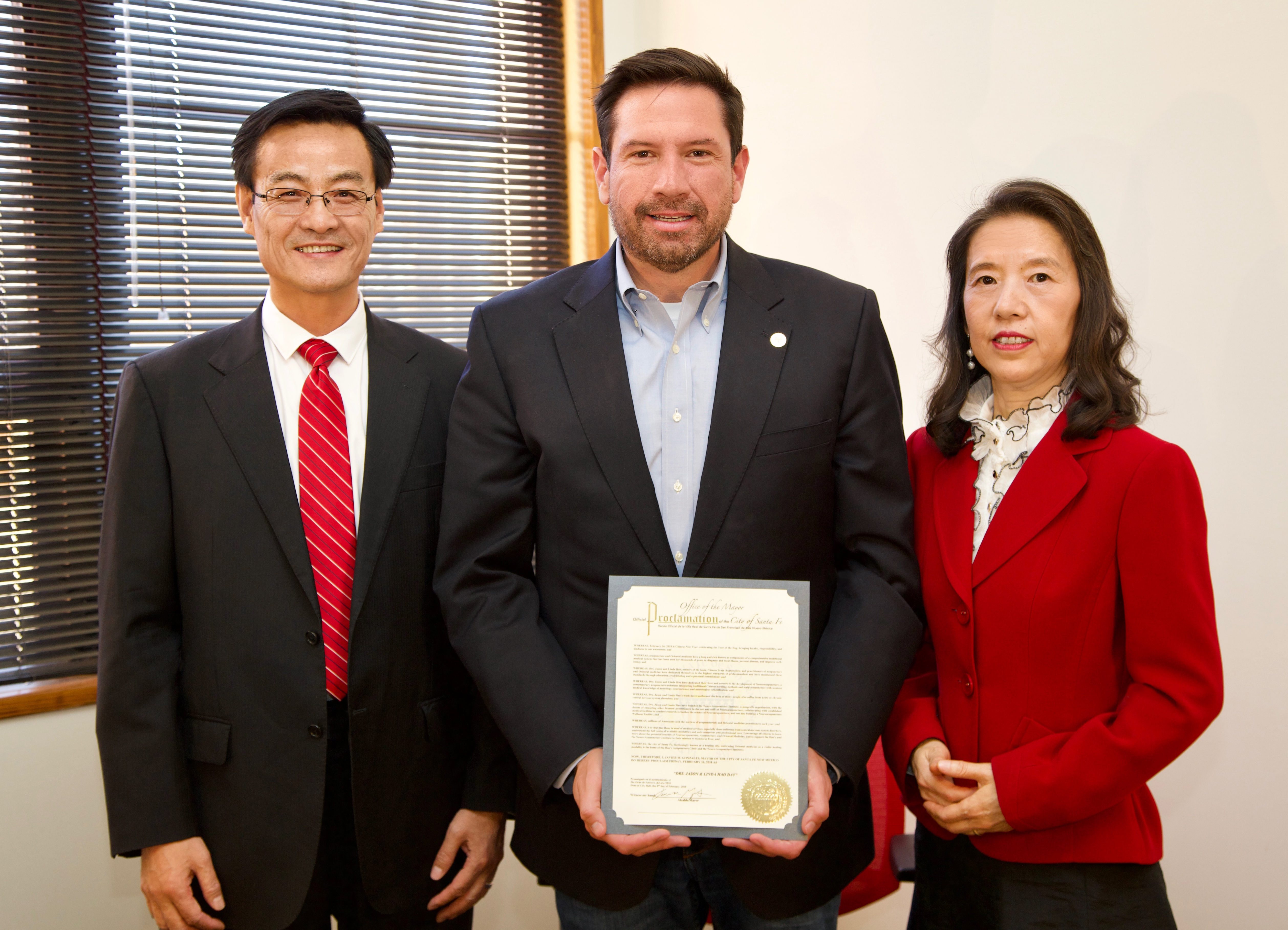 Dr. Jason and Linda Hao Day