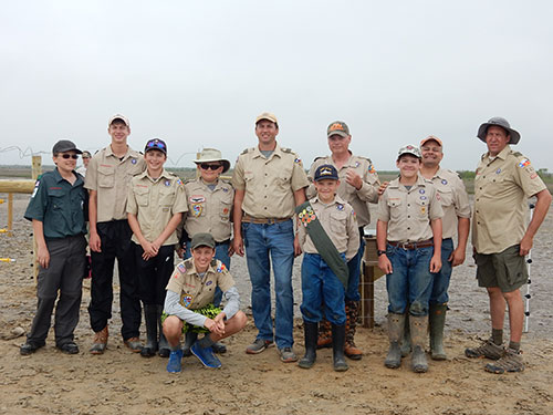 Boy Scouts Help Beach-Nesting Birds