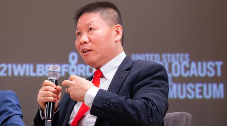 China Aid's Bob Fu granted restraining order against protestors, billionaire Chinese media executive