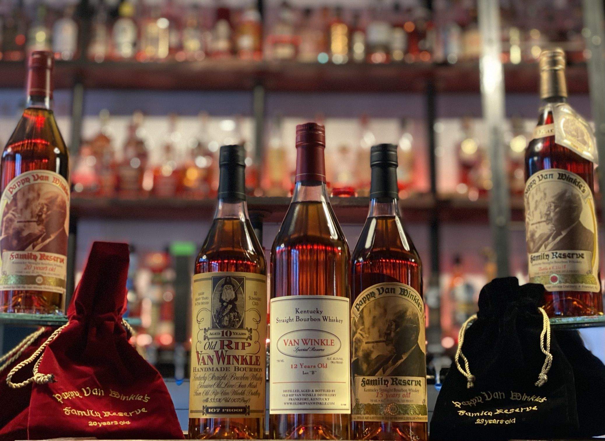 1st Place: Pappy Collection