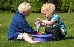 Activity #4: Water Play Helps Develop Motor and Problem-solving Skills