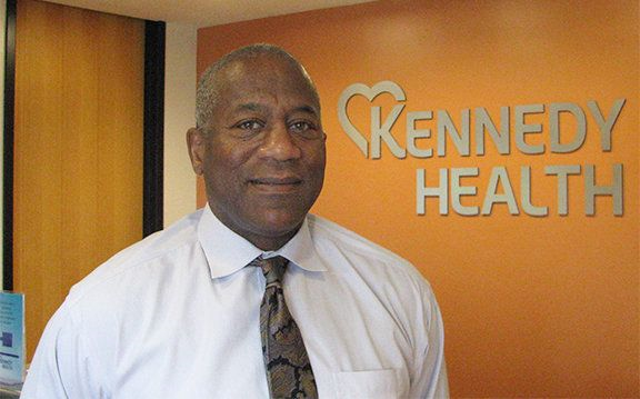 DR. JAMES R. WILLIAMS, M.D. '80 NAMED MEDICAL DIRECTOR AT KENNEDY HEALTH, NJ