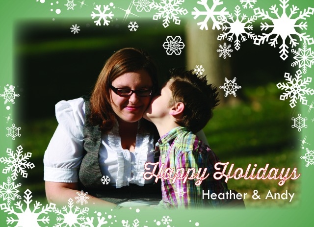 Holiday Card Template C