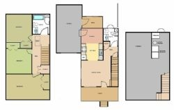 3 Level Floorplan
