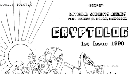 "NSA Publication ""Cryptolog,"" 1974-1997, Available On Line"