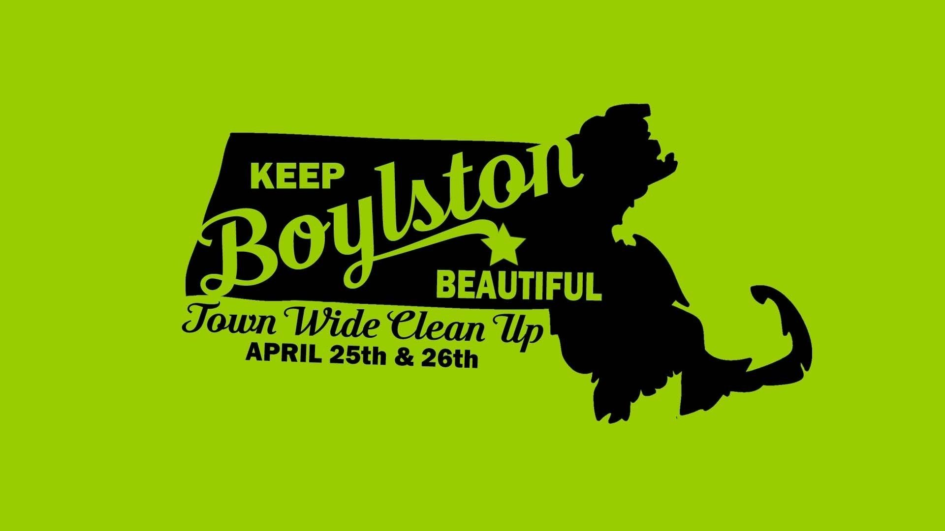 Keep Boylston Beautiful Town-Wide Litter Cleanup