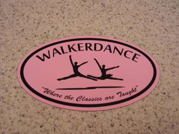 Walker Dance Magnet