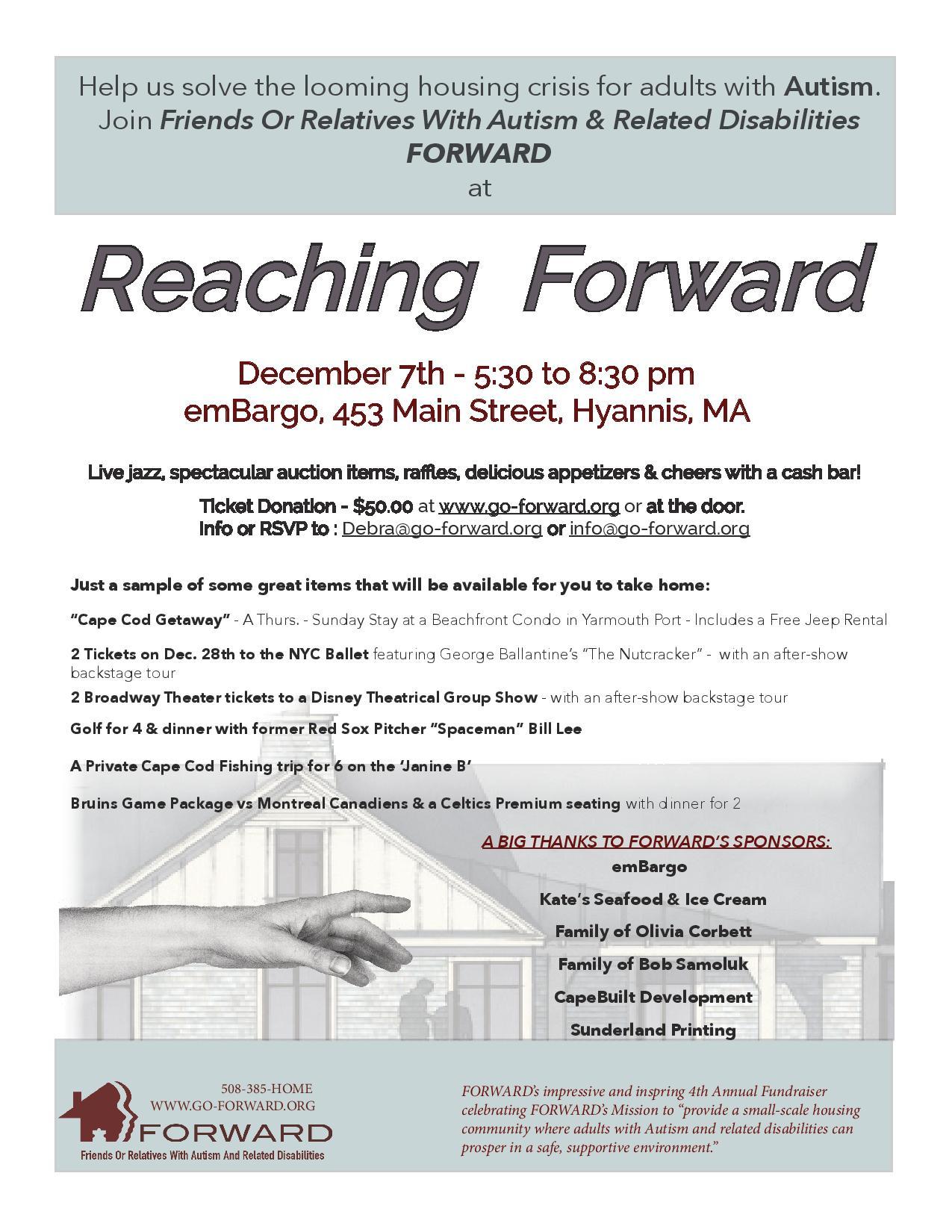 Reaching FORWARD Fundraiser