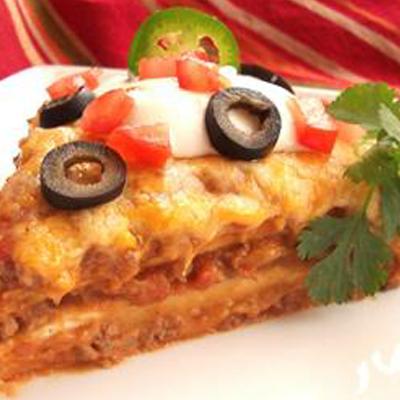 Potluck Burrito Pie
