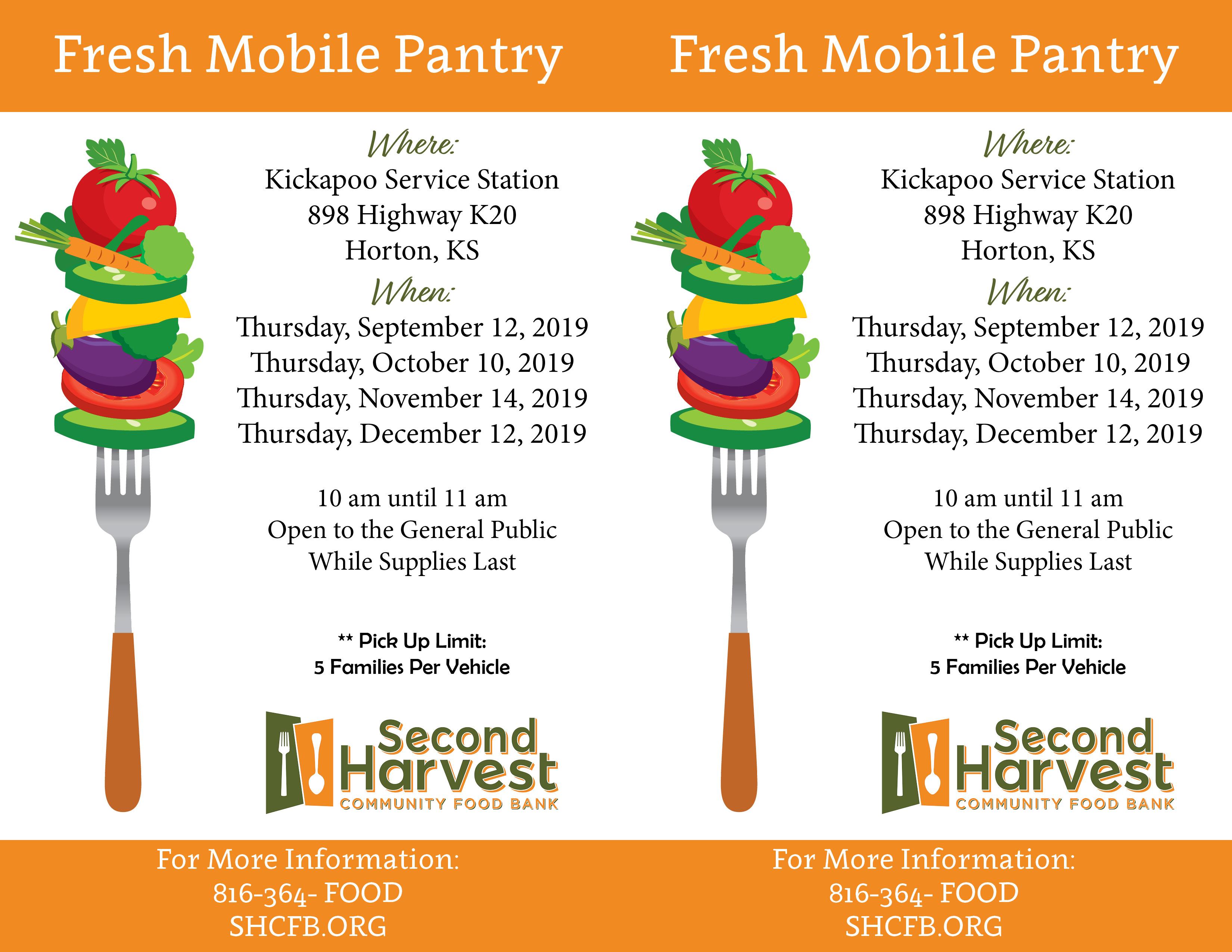 Kickapoo Fresh Mobile Pantry
