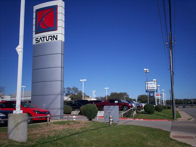 Saturn of Austin- Installation
