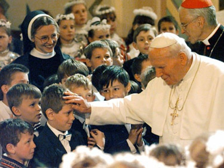 """""""The family is especially under attack"""" -Pope John Paul II"""